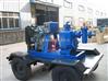 拖车移动式柴油机自吸排污水泵