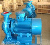 上海防爆管道泵ISWB 卧式防爆管道泵