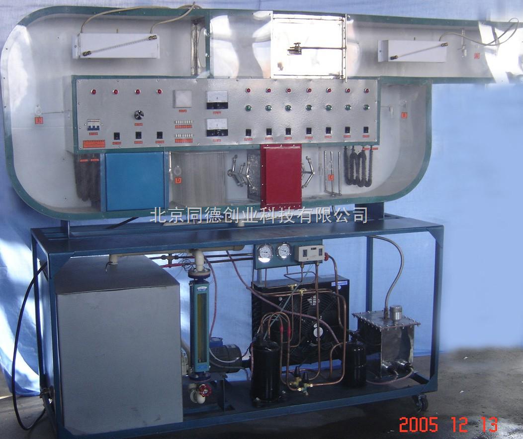 ky-kts-01空气调节模拟试验台循环式空调过程实验装置