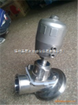 不锈钢卫生级气动隔膜罐底阀