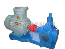 圆弧齿轮泵在燃油系统中可用作输送,加压,喷射的燃油泵