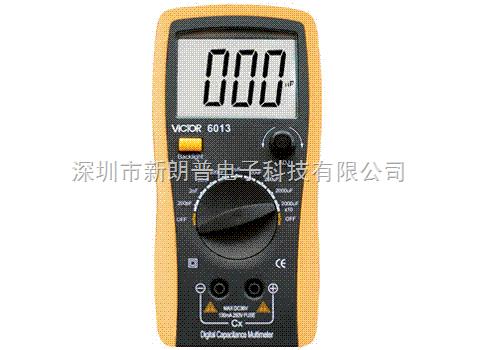 vc6013电感电容表胜利仪器vc6013数字电感电容表